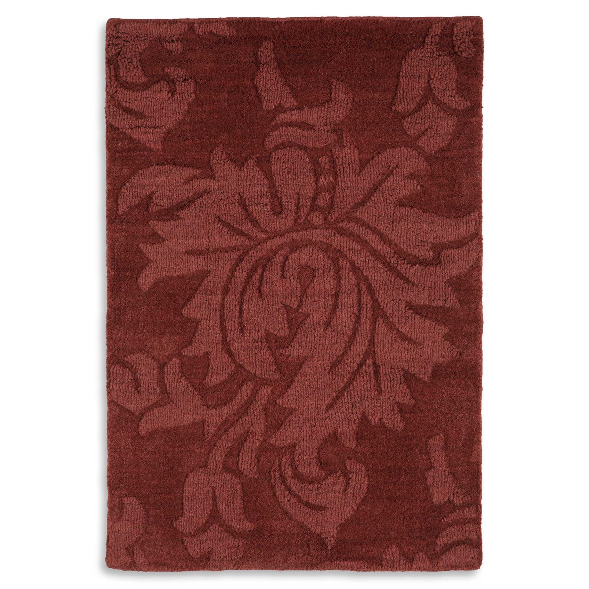 Winsome Wool Rug Solid Color Carved Area Rug Sturbridge Yankee In Solid Color Wool Area Rugs (#9 of 9)