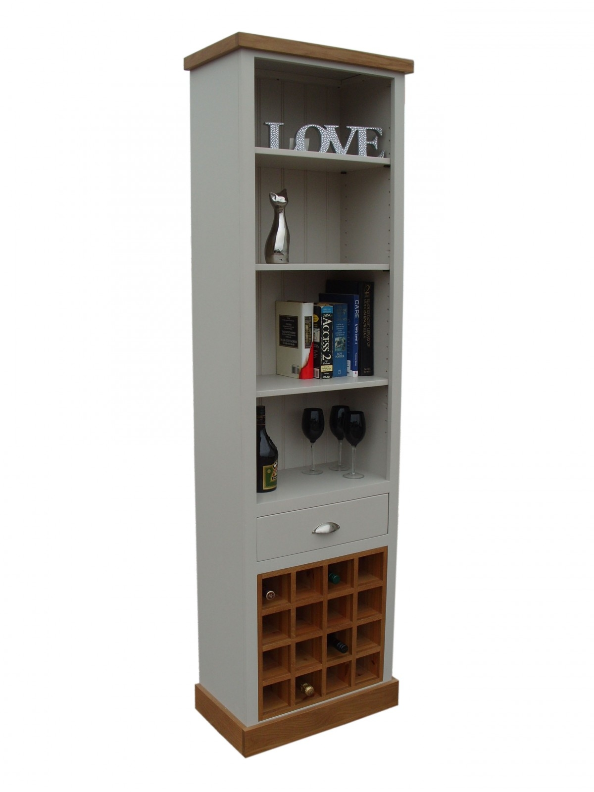 15 Best Collection Of Painted Oak Bookcase