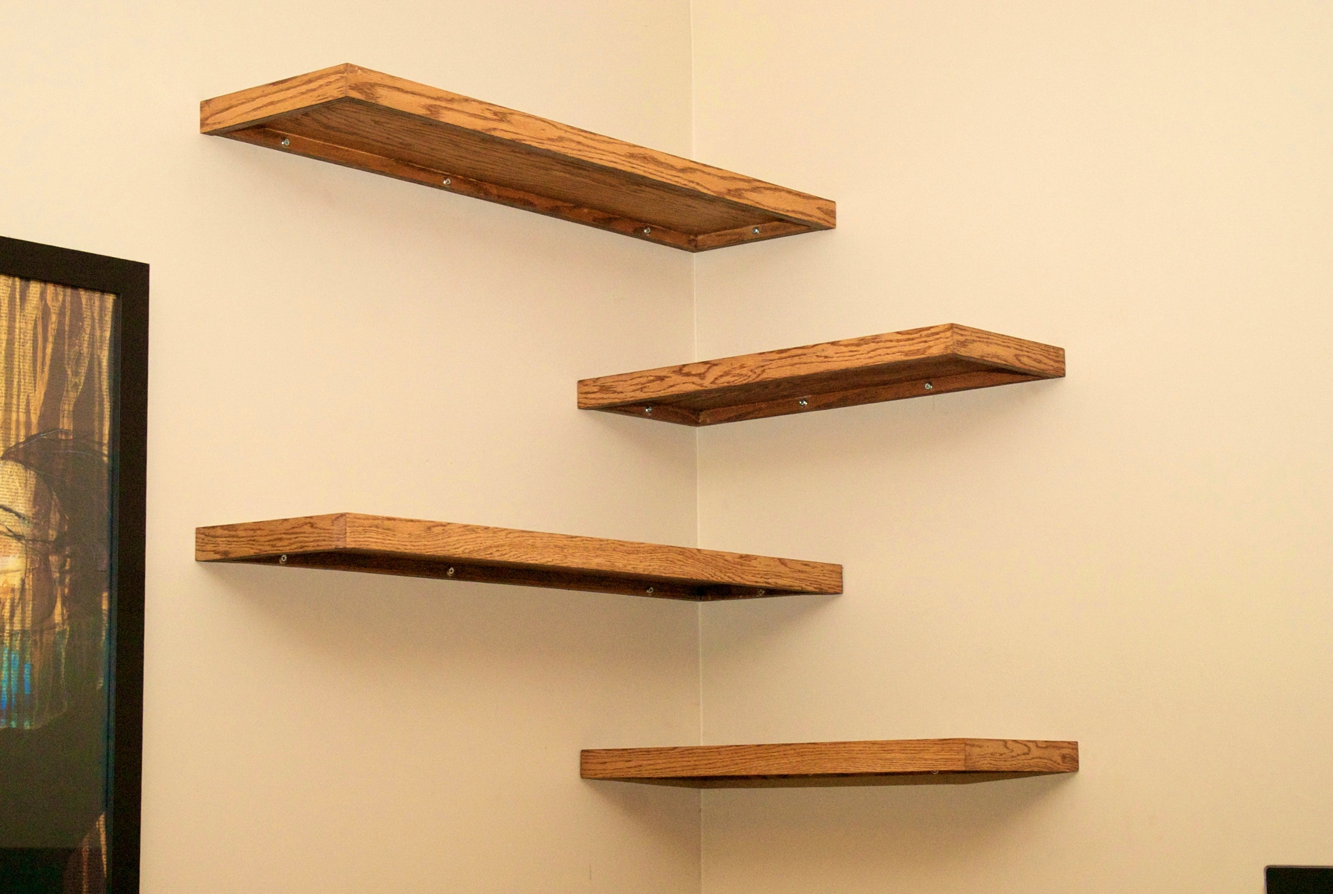 15 Collection of Oak Wall Shelves