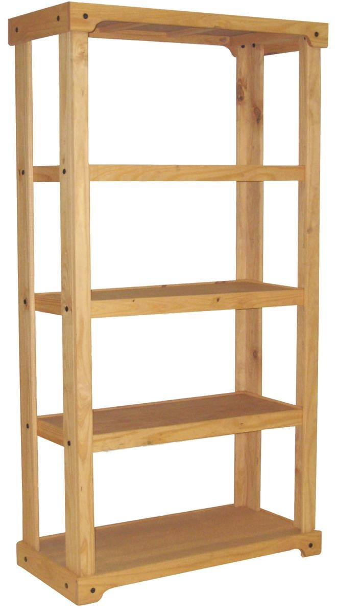 Popular Photo of Wooden Shelving Units