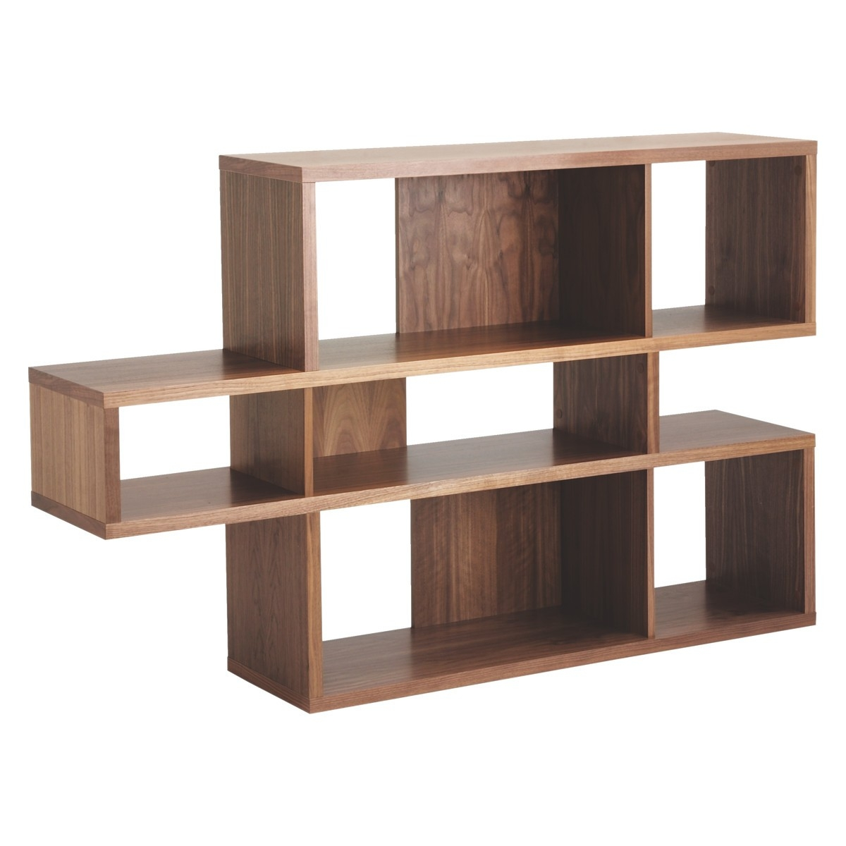 Wood Shelving Units Reclaimed Wood Unit With 3 Urban Look With Regarding Wooden Shelving Units (#13 of 15)