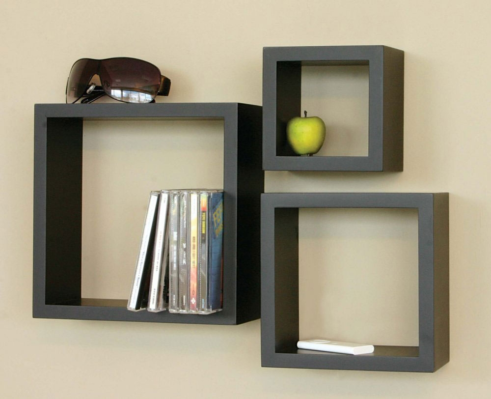 Wood Simple Wall Hanging Shelves Ideas Project Home Pinterest Throughout Wooden Wall Shelves (#12 of 15)