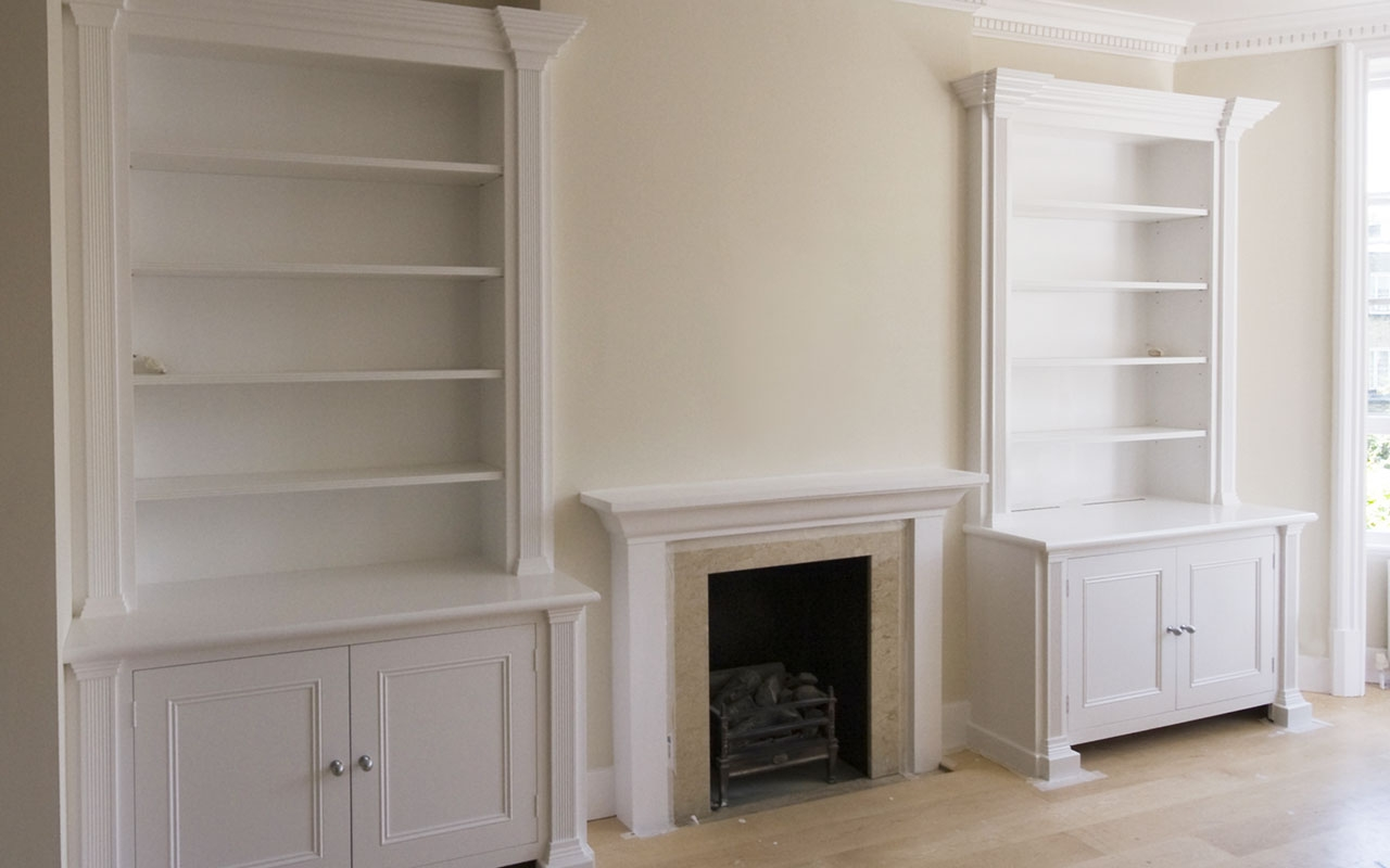Wooden Cupboards And Shelves Joinery In London Regarding Shelves And Cupboards (#12 of 12)