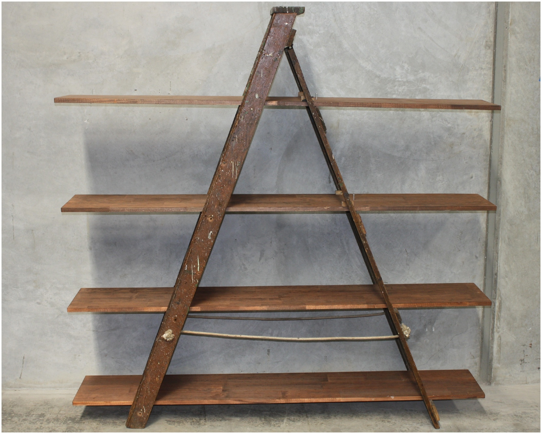 Wooden Ladder Shelf Design For Your Home Furniture Modern Shelf For Ladder Shelves (#15 of 15)