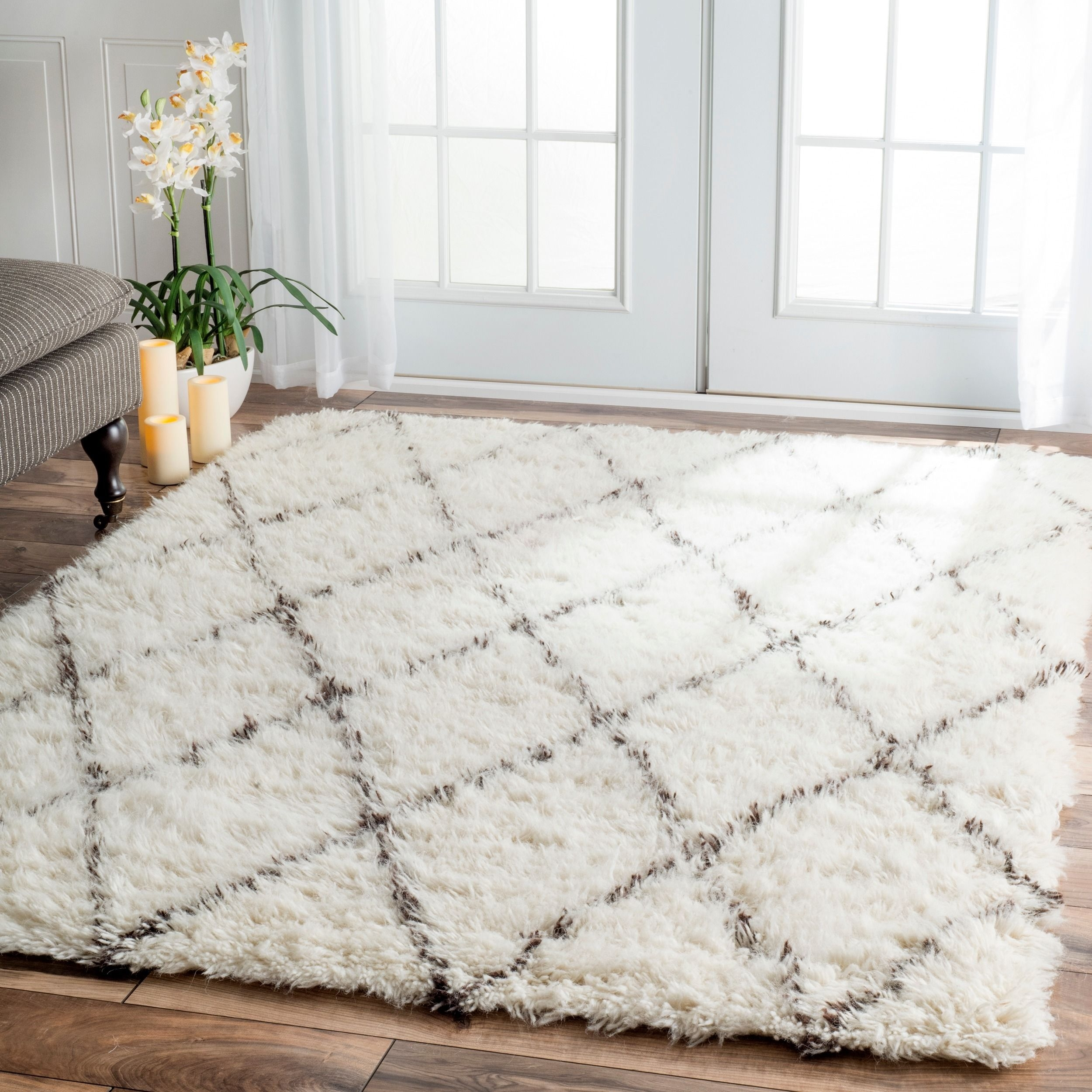 Wool Area Rugs Dunes Collection Candler Wool Area Rug Kinder Pertaining To Hand Tufted Wool Area Rugs (#13 of 15)