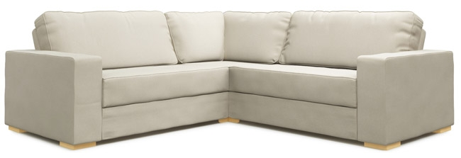 Xia 2×2 Armless Single Modular Sofa Bed Nabru With Regard To 2×2 Corner Sofas (View 13 of 15)