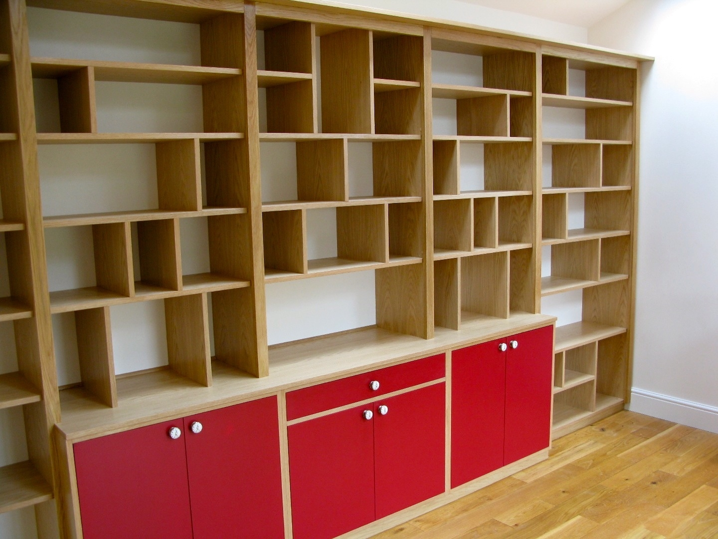 York Carpenters Cabinet Makers Fern Manor Martin Smith For Bespoke Bookshelves (#14 of 14)
