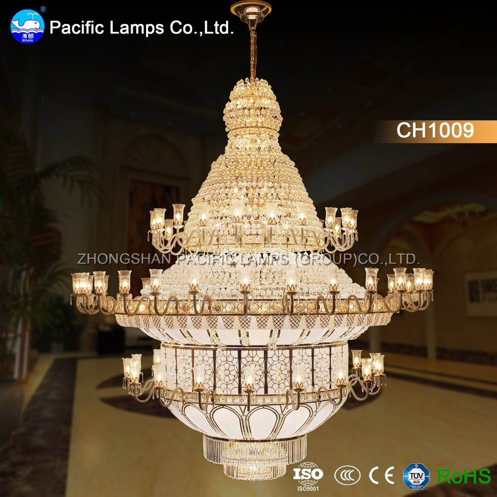 Zhongshan Large Hotel Chandelier For High Ceilings Buy Hotel With Regard To Hotel Chandelier (View 9 of 12)