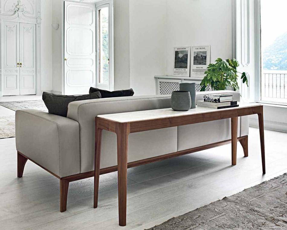 Ziggy 4 Sofa Back Console Italian Designer Luxury Furniture At For Sofas With Consoles (#15 of 15)
