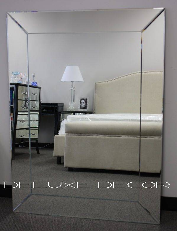 10 Best Dd – Large Mirrors Images On Pinterest | Large Wall In Large Frameless Wall Mirrors (View 5 of 20)