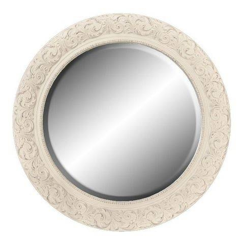 10 Best Decorative Round Mirrors 2017 – Round Wall Mirrors Under $300 Intended For Cream Shabby Chic Mirrors (#1 of 30)