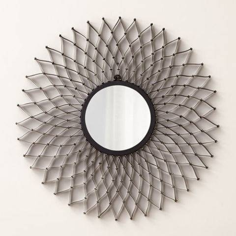 10 Best Decorative Round Mirrors 2017 – Round Wall Mirrors Under $300 Pertaining To Circular Wall Mirrors (#1 of 20)