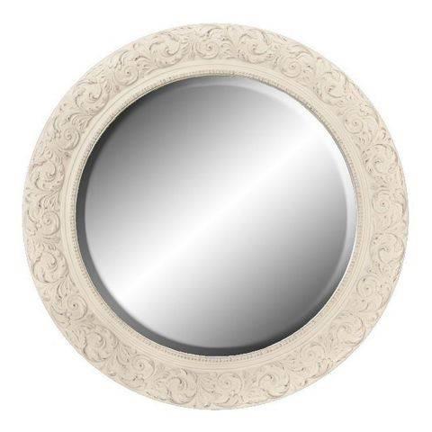 Popular Photo of Shabby Chic Round Mirrors
