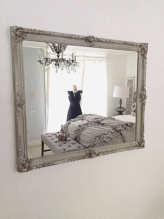 10 Best Ornate French Regency Baroque Antique / Vintage Style Gold In French Chic Mirrors (View 1 of 30)