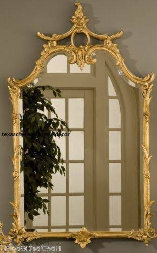 10 Best Ornate French Regency Baroque Antique / Vintage Style Gold Pertaining To Antique Gold Mirrors French (#2 of 20)