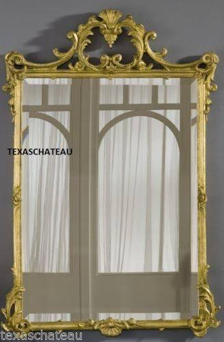 10 Best Ornate French Regency Baroque Antique / Vintage Style Gold Regarding Ornate Gilt Mirrors (#4 of 30)