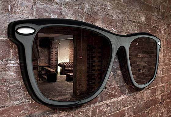 10 Cool And Unusual Wall Mirrors – Design Swan Intended For Funky Mirrors (View 1 of 30)