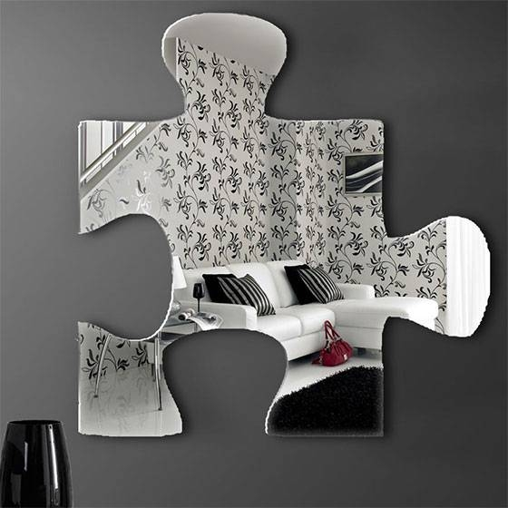 10 Cool And Unusual Wall Mirrors – Design Swan Throughout Unusual Wall Mirrors (#3 of 20)