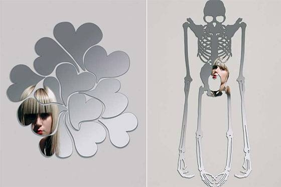 10 Cool And Unusual Wall Mirrors – Design Swan With Unusual Mirrors (#1 of 20)