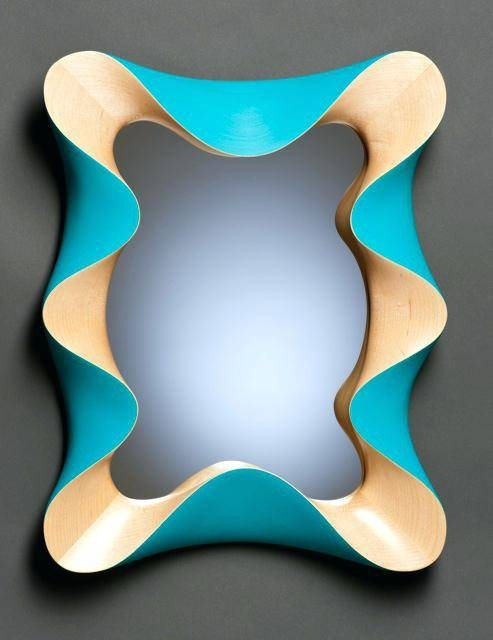 10 Cool And Unusual Wall Mirrorsfunky Bathroom Mirrors Funky In 2 Of