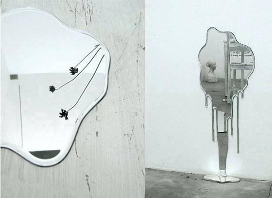 10 Cool And Unusual Wall Mirrorsfunky Bathroom Mirrors Funky With Funky Mirrors For Bathrooms (#1 of 20)