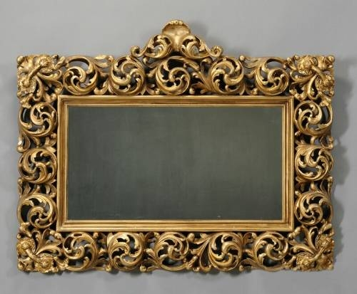 10 Facts About Rectangular Wall Mirrors Decorative | Inovodecor Throughout Large Rococo Mirrors (#1 of 30)