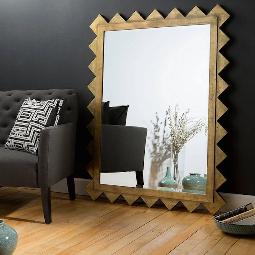 10 Gorgeous Oversized Mirrors To Make Your Room Feel Bigger In Oversized Mirrors (#1 of 30)