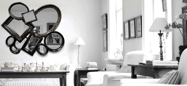 10 Perfect High End Black Mirrors For Luxury Interiors | Design Regarding Black Mirrors (#2 of 30)
