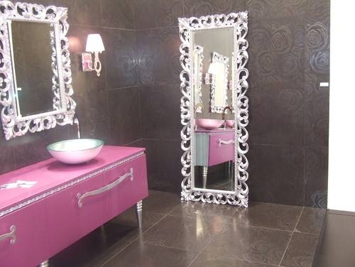 10 Stylish Ideas Using Bathroom Mirrors In Elaborate Mirrors (#1 of 30)