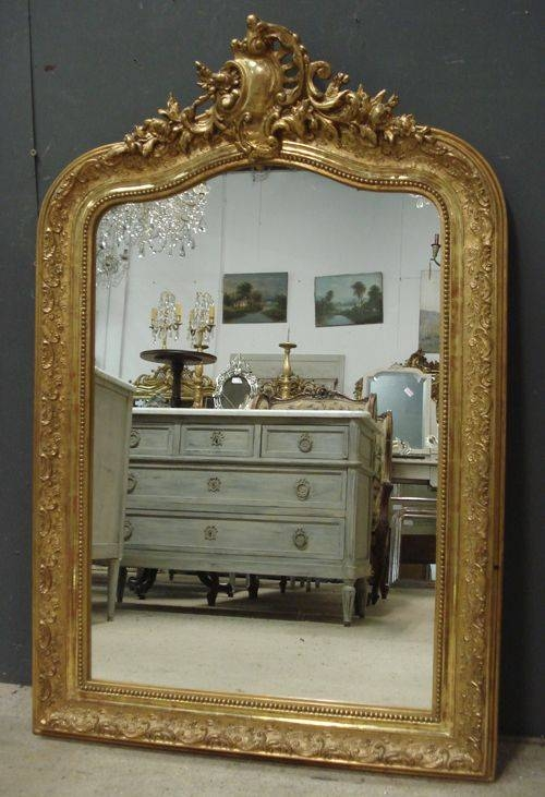100 Best French Mirrors Images On Pinterest | French Mirror For Large French Mirrors (View 9 of 20)