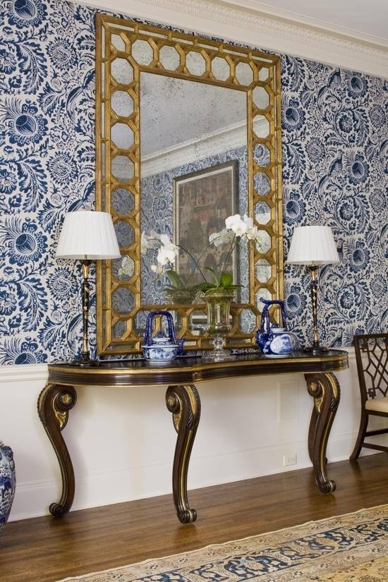 100 Best French Mirrors Images On Pinterest   French Mirror Pertaining To Modern Gold Mirrors (View 5 of 20)
