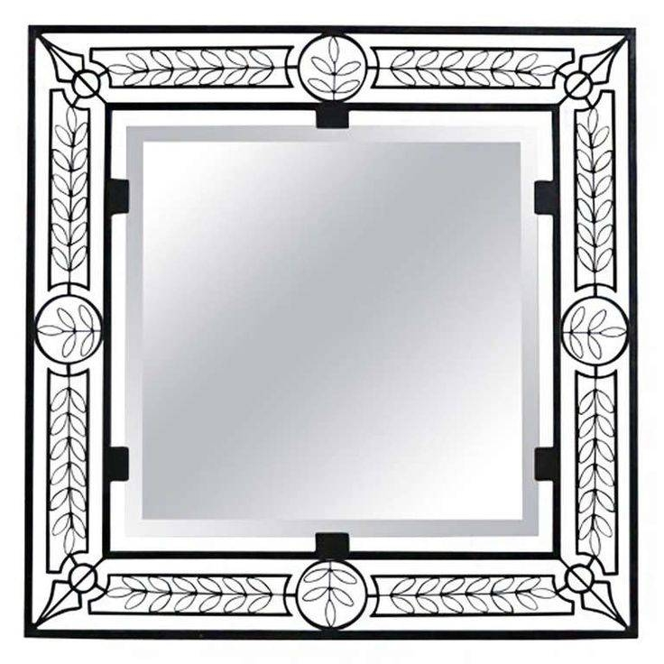 100 Best Mirrors – Wrought Iron Images On Pinterest | Wrought Iron Throughout Black Wrought Iron Mirrors (#2 of 20)