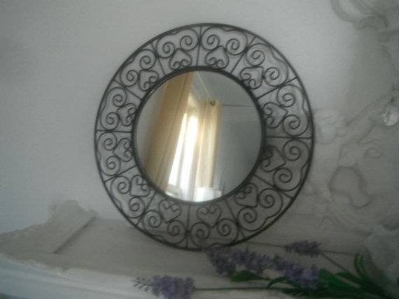 100 Best Mirrors – Wrought Iron Images On Pinterest | Wrought Iron Within Black Wrought Iron Mirrors (#4 of 20)