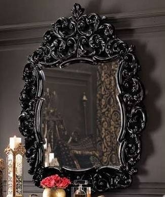 102 Best Baroque Images On Pinterest | Home, Mirror Mirror And For Baroque Black Mirrors (#1 of 20)