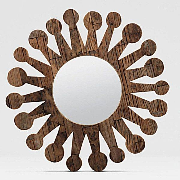 102 Best Mirrors Ghny Images On Pinterest | Indoor, Shell Mirrors Within Funky Round Mirrors (View 4 of 30)