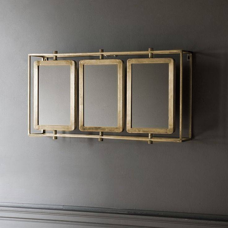 103 Best Accessories & Bits Images On Pinterest | Mirrors Throughout Triple Wall Mirrors (#2 of 30)