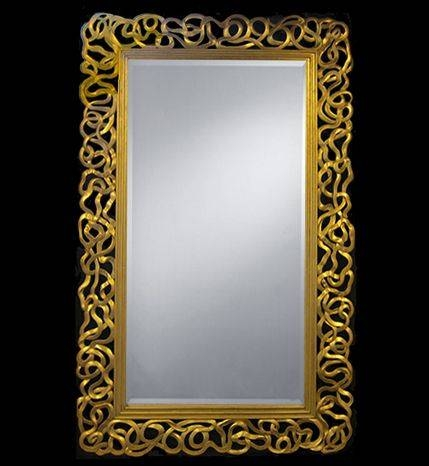 103 Best Mirrors Images On Pinterest | Mirror Mirror, Antique Throughout Large Ornate Gold Mirrors (#4 of 30)