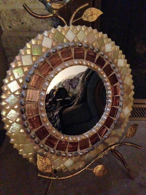 1037 Best Mosaic Frames And Mirrors Images On Pinterest | Mosaic For Bronze Mosaic Mirrors (#2 of 30)
