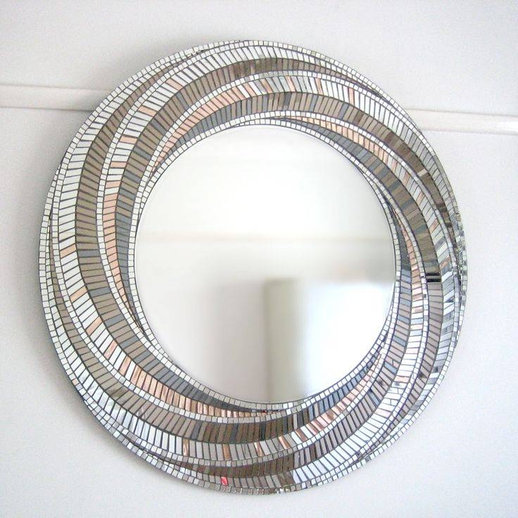 1038 Best Mosaic Frames And Mirrors Images On Pinterest | Mosaic For Round Mosaic Mirrors (#1 of 30)