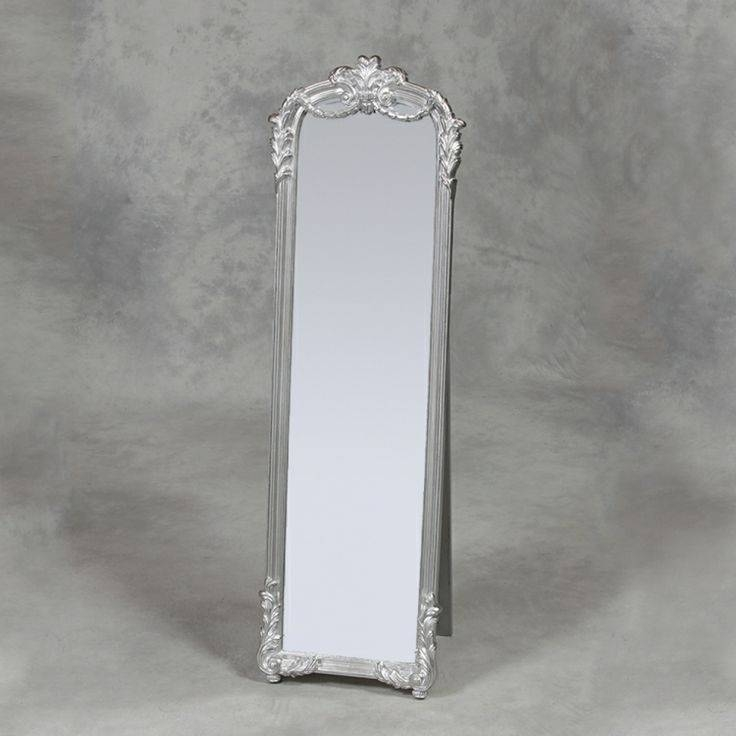 104 Best Mirrors Images On Pinterest | Mirrors, Home And Mirror Mirror Pertaining To Silver Cheval Mirrors (#1 of 20)