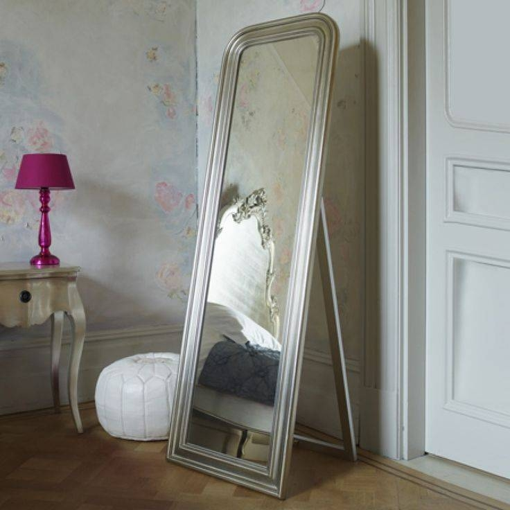 104 Best Mirrors Images On Pinterest   Mirrors, Home And Mirror Mirror Throughout Free Standing Silver Mirrors (#1 of 30)