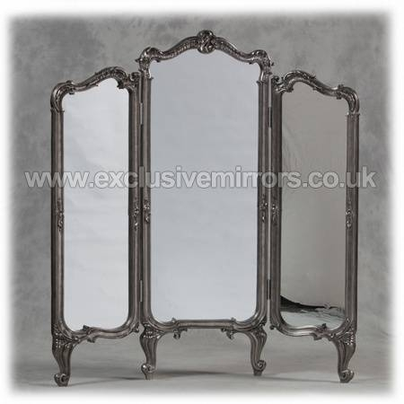 104 Best Mirrors Images On Pinterest | Mirrors, Home And Mirror Mirror With Silver Free Standing Mirrors (View 6 of 20)