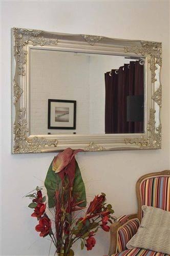 105 Best Dining Area Images On Pinterest | Big Wall Mirrors, Next Regarding Large Silver Vintage Mirrors (#1 of 30)