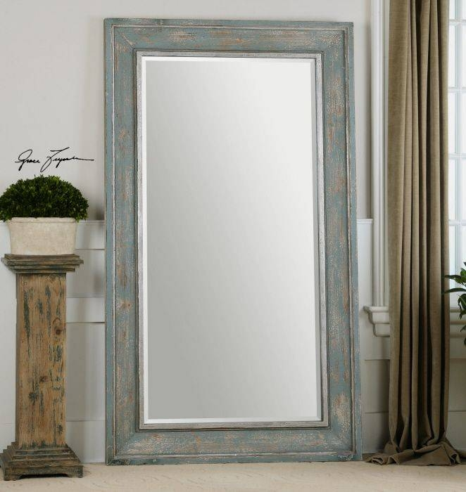 105 Best Mirrors Images On Pinterest | Mirror Mirror, Mirrors And Regarding Blue Distressed Mirrors (#2 of 30)