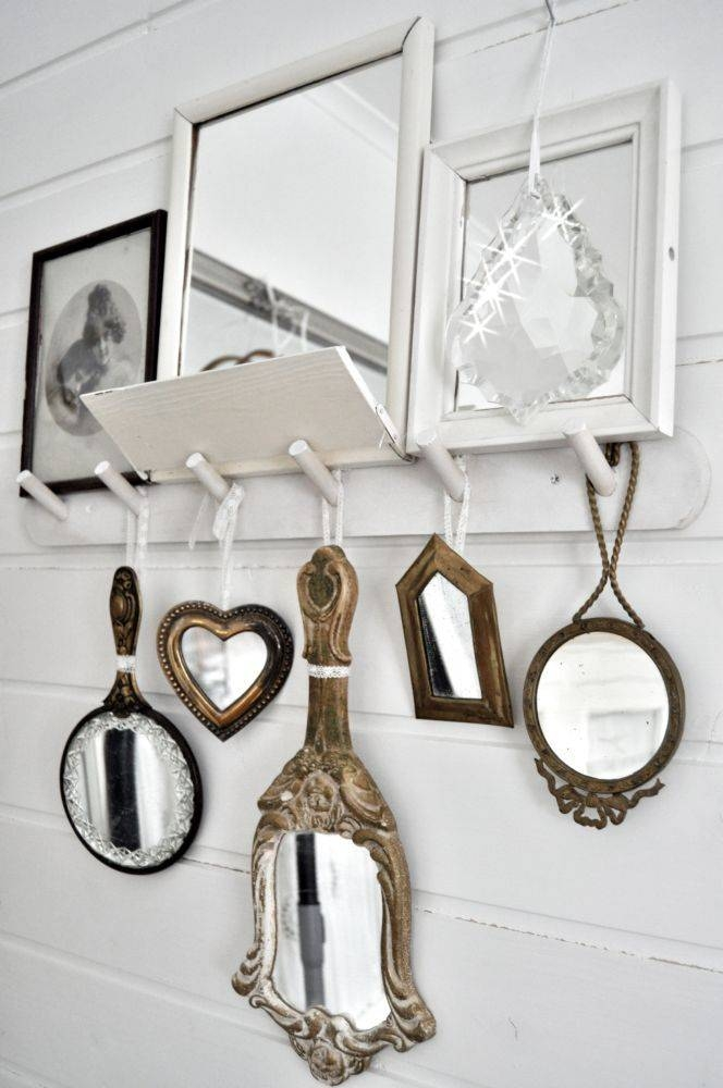 105 Best Vintage Mirrors Images On Pinterest | Mirror Mirror In Small Vintage Mirrors (#1 of 30)
