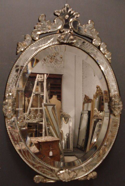 105 Best Vintage Mirrors Images On Pinterest | Mirror Mirror Regarding Venetian Table Mirrors (#1 of 20)