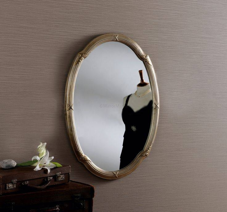 106 Best Our Ornate Mirrors Images On Pinterest | Mirror Mirror With Regard To Silver Oval Wall Mirrors (View 12 of 20)