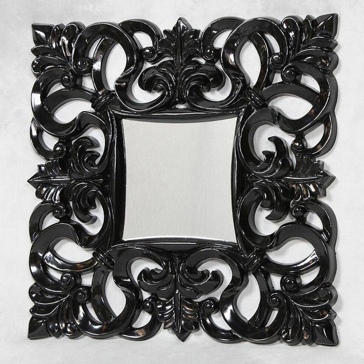 109 Best Baroque Mirror Images On Pinterest | Baroque Mirror Throughout Black Shabby Chic Mirrors (#1 of 20)