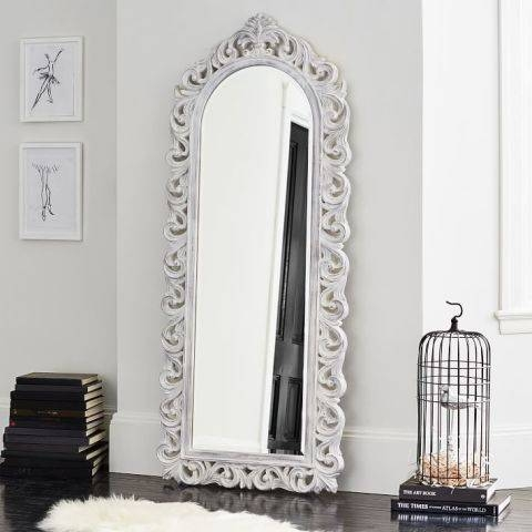 11 Best Full Length Mirrors In 2017 – Chic Standing And Floor Mirrors Intended For Ornate Floor Length Mirrors (#1 of 30)