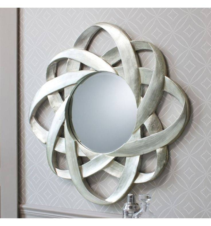 11 Best Mirrors Images On Pinterest | Wall Mirrors, Round Mirrors Pertaining To Silver Round Mirrors (View 14 of 30)